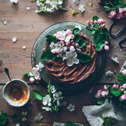 鲜花和甜点,给你一周好心情!