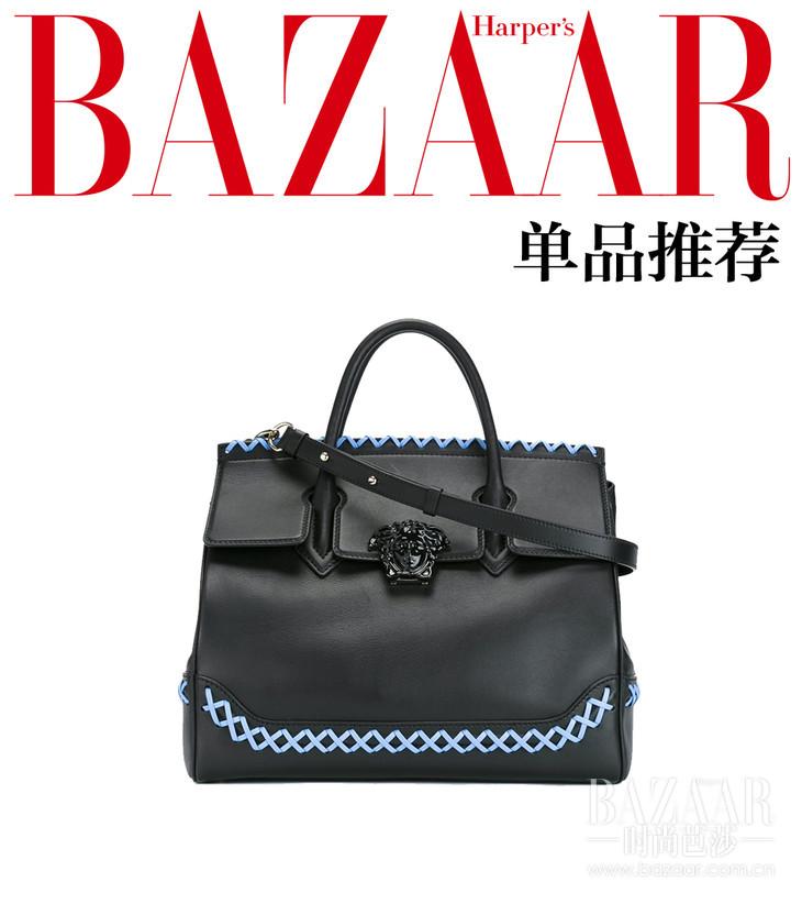 Palazzo Empire编织单肩包  Versace 约RMB 25,341  11