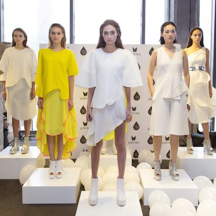 未来主义强势登陆MODE展——设计师品牌JUDY WU 2017春夏系列静态展