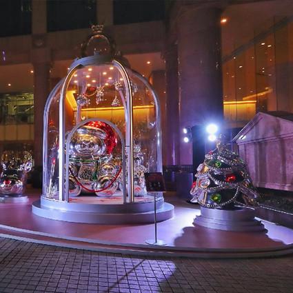 PANDORA巨型圣诞魔力乐园点亮申城
