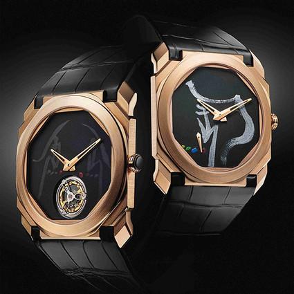 9枚限量款Octo腕表登陆中国市场, 揉合了制表传统、罗马珠宝历史遗产和中国艺术印象