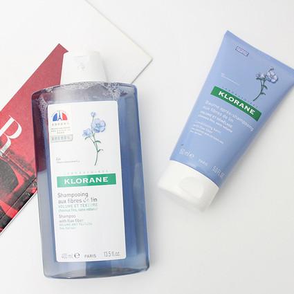 评测|Klorane康如 丰盈洗发露&护发素
