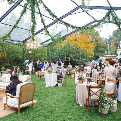 神赋恩泽,自然妙境:La Nature de CHAUMET高定珠宝秘密花园派对