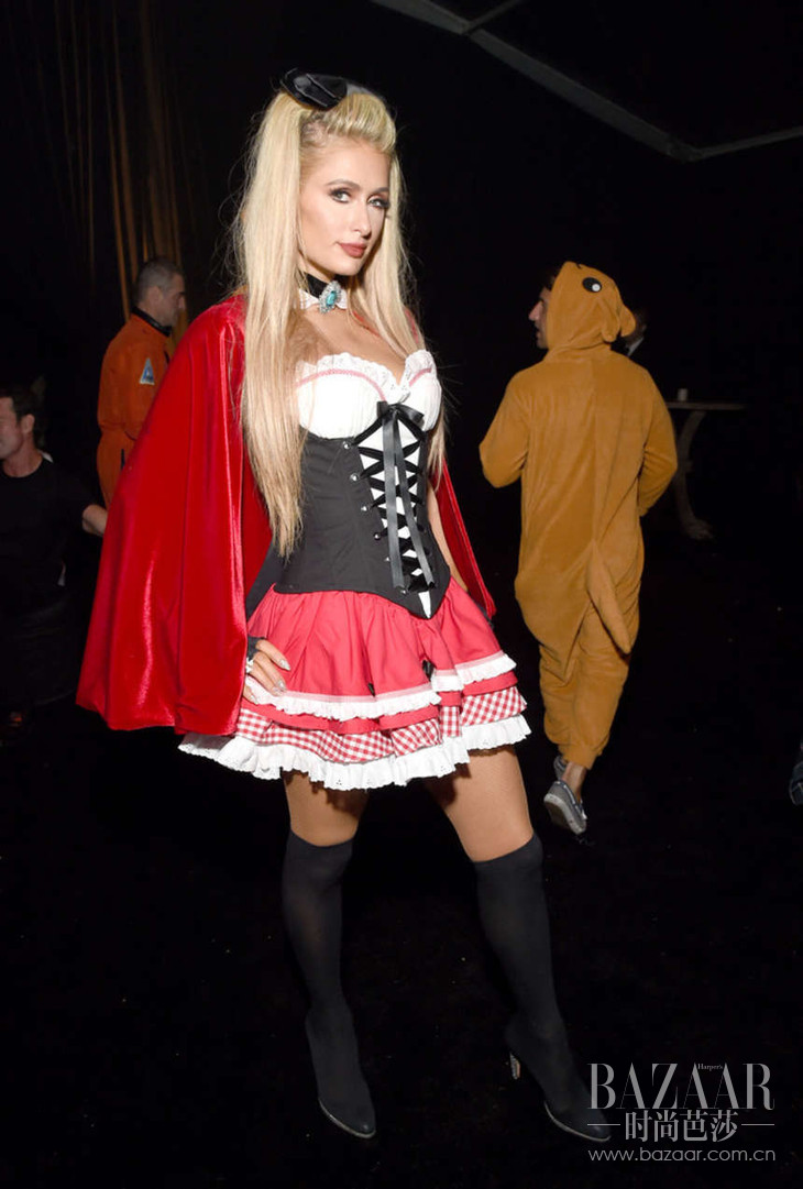 Paris-Hilton--2016-Casamigos-Tequila-Halloween-Party--01