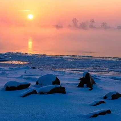 中国竟然有一个可以与贝加尔湖媲美的地方,私藏了最梦幻的冬天!