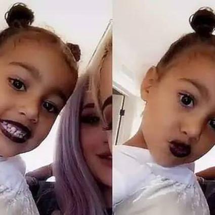 """卡戴珊女儿的""""Black lips"""",原来才是天后们的标配!"""