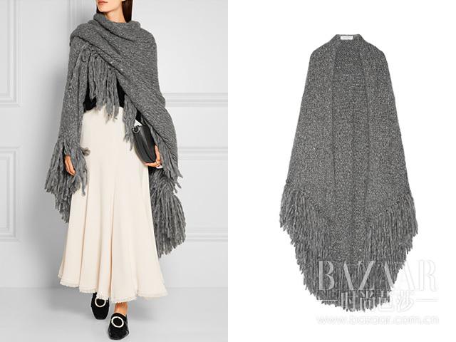 羊绒裹身围巾 Gabriela Hearst