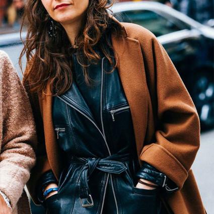 大衣里面还能套点啥?夹克先别收,叠搭大法助你温暖过秋天!
