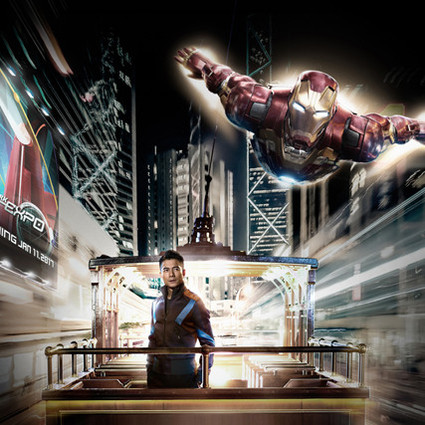 """钢铁侠""""星级好友""""郭富城出动私人珍藏超跑,带钢铁侠体验香港地道文化"""