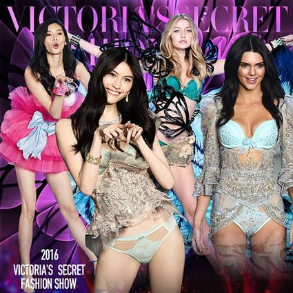 刘雯、何穗、奚梦瑶、雎晓雯化身超模届F4,更有Kendall网红三姐妹攻陷维秘!