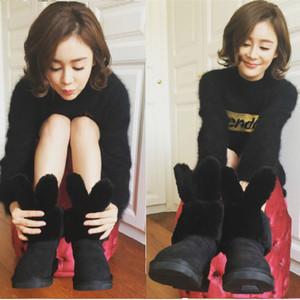每日星范 | 袁姗姗 穿新款雪地靴卖萌,原来今年的雪地靴都要时髦到你不敢嫌弃!