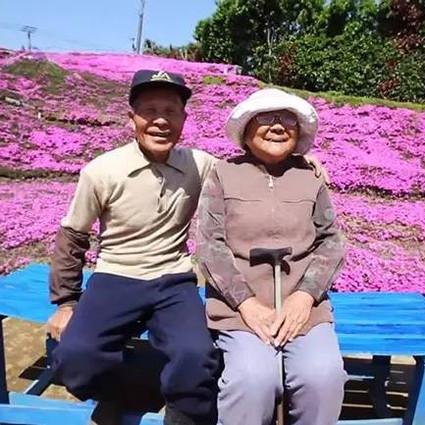 他种了上千万朵花,让失明的妻子重拾笑容