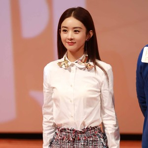 每日星范 | 赵丽颖 刘诗诗都在穿,女神的白衬衫从来不缺新花样!