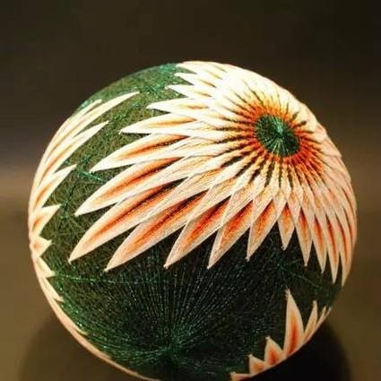 民间工艺的传承:92岁的日本老奶奶做了500多个手鞠球!