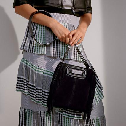 Maje M系列推出全新M Walk手袋 庆祝品牌经典M Bag诞生一周年