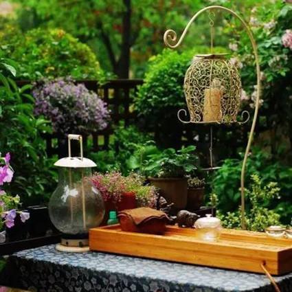 她10年前开始打造的英式花园,如今已惊艳上海