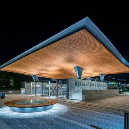 公建设计——城市交通站