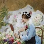 一百年前的巴黎花市,滋养出最从容娴雅的女子