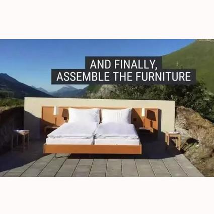 扔张床到荒郊野外就算酒店?!