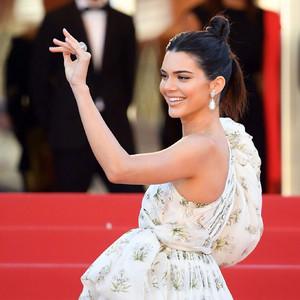每日星范 | Kendall 在戛纳红毯穿了肉丝袜,原来引导时尚潮流的是咱妈!