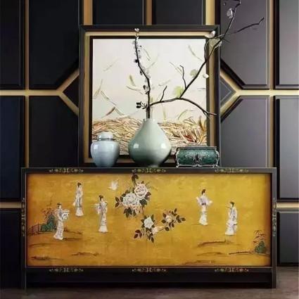 新中式玄关,家的第一印象