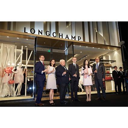 LONGCHAMP「珑骧」——静安嘉里中心中国旗舰店盛大开幕