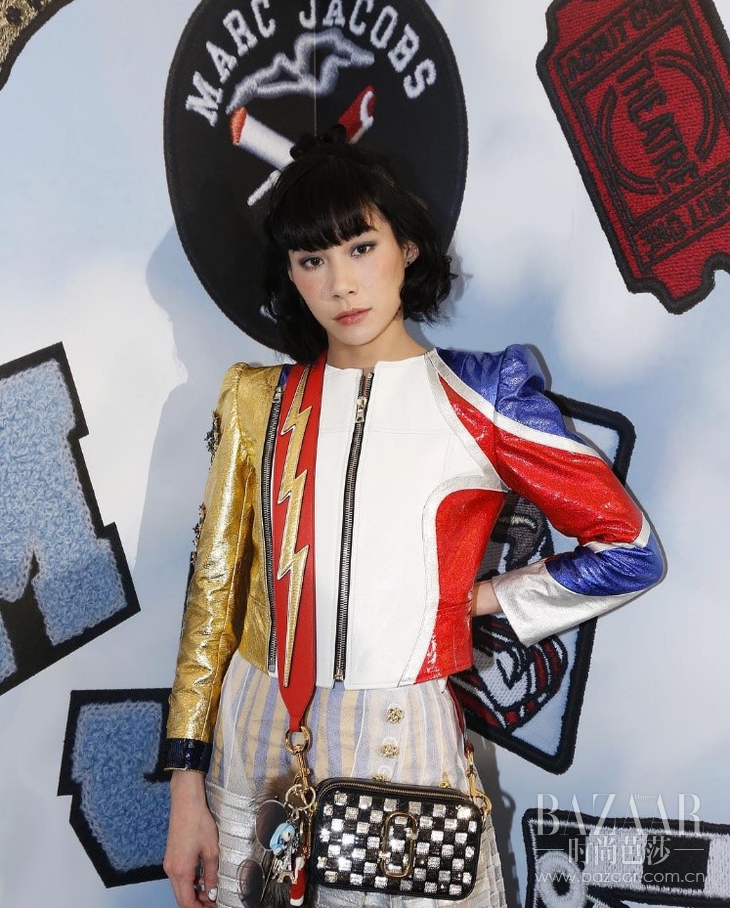 yulia celebrating our #PatchMarc event this past weekend in Tokyo.-.clipular