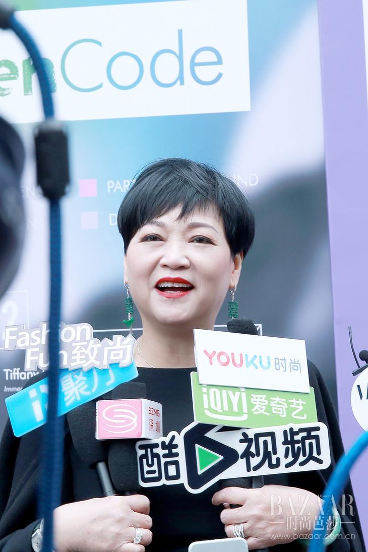 连卡佛大中华区副总裁Irene lau女士