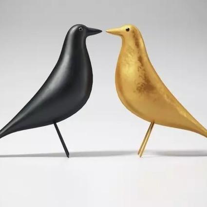 【艺术品】设计师夫妇钟爱50年的小鸟 成为了高逼格的象征!