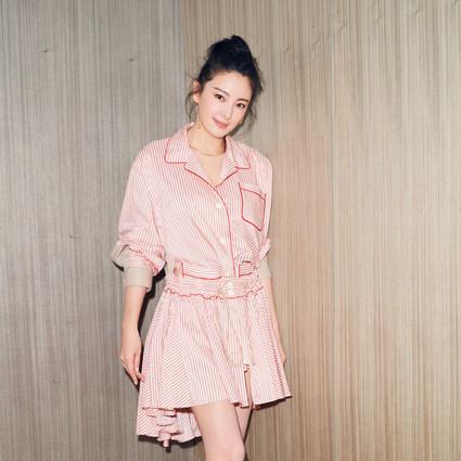 每日星范 | 张雨绮 慵懒又经典的彩色条纹,这5个品牌让范爷杨幂都离不了!