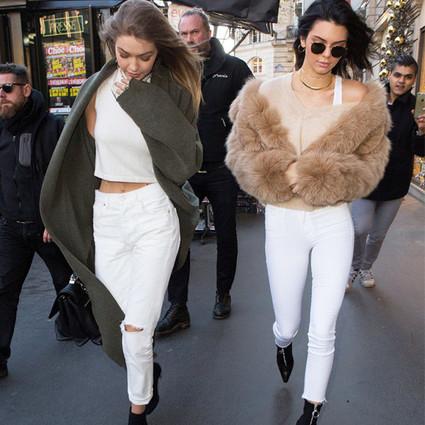 白色牛仔裤是长腿毁灭者?说它显胖那是你还不会穿!
