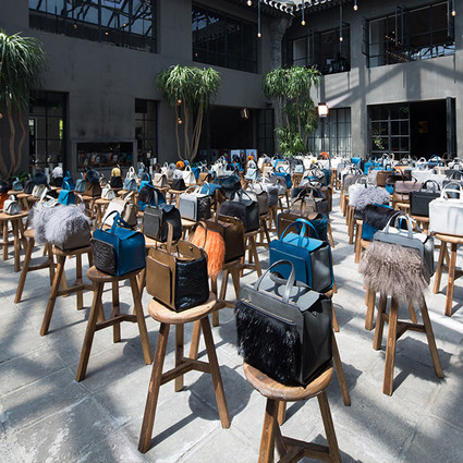 Personal Subject摄影项目登陆北京——Valextra2017秋冬系列手袋惊喜揭幕
