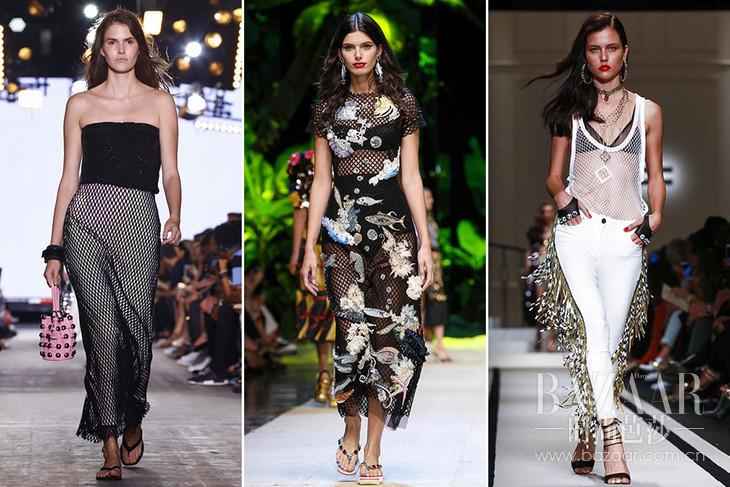 Alexander Wang, Dolce Gabbana, Elisabetta Franch 2017春夏系列