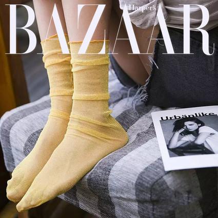 哦耶~小时候穿的水晶袜又回归了!