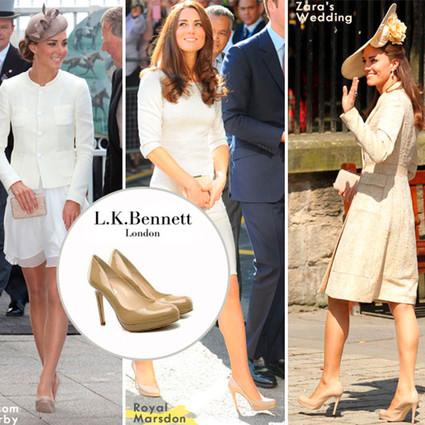 除了王子丈夫,凯特王妃只对L.K. Bennett动真情了!
