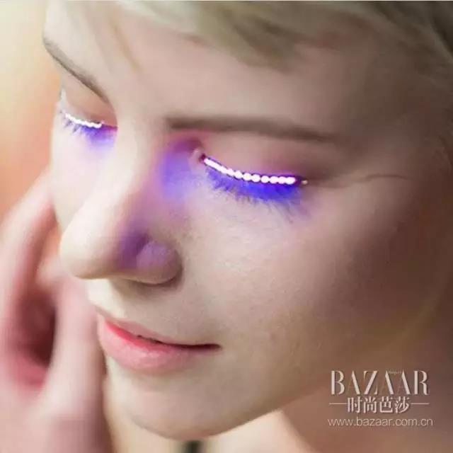 """睫毛界又出黑科技?Led电子睫毛让你""""眼""""力十足放肆Shine!"""