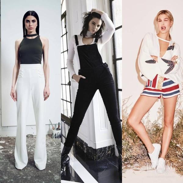 """深V低领算什么?Kendall、Bella又开始集体爱上""""掐脖""""style了!"""