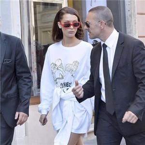 每日星范 | Bella 红毯私服都能穿出高级感的all white,让范爷都离不开!