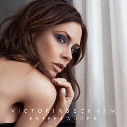 雅诗兰黛推出与维多利亚-贝克汉姆合作的第二个限量彩妆系列广告活动