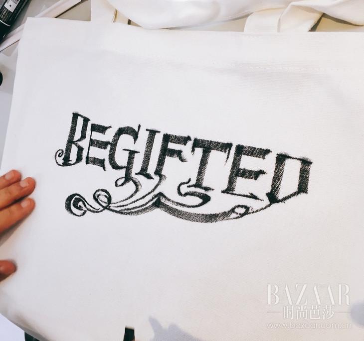 南门大人朱敬一为BeGifted现场创作