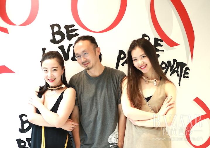 南门大人朱敬一与BeGifted两大当家Teresa Wu & Amber Chen