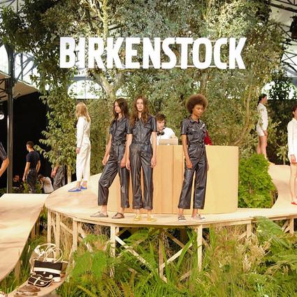 BIRKENSTOCK 2018春夏系列首次亮相巴黎男装周