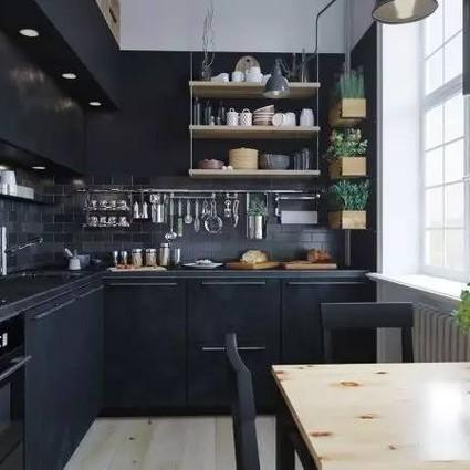 想要一个diordior的开放式厨房!