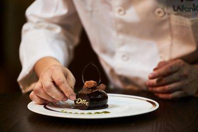 德芙跨界米其林巧克力甜品
