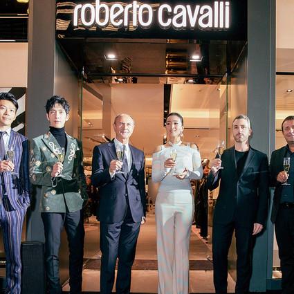 Roberto Cavalli北京三里屯全新旗舰店开幕