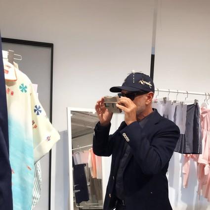 意大利奢侈品牌电商LUISAVIAROMA首席执行官Andrea Panconesi先生亮相2018春夏上海时装周