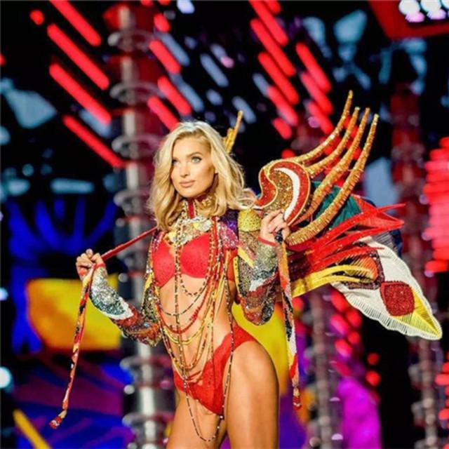 维密天使们明争暗斗15年,每年都要争着穿这双100万美金的维密翅膀!