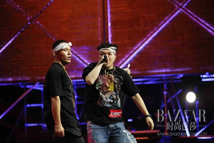 《中国有嘻哈》沙漠兄弟(黄旭&艾福杰尼)