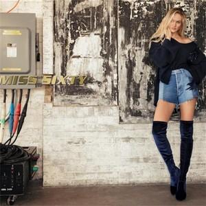 天使糖糖华丽回归!超模Candice Swaneopoel演绎MISS SIXTY魅惑黑天使