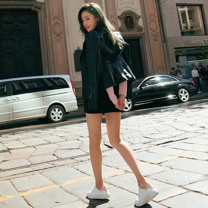 HOGAN携手张天爱、蒋劲夫推出H-ONE系列明星限量款运动鞋
